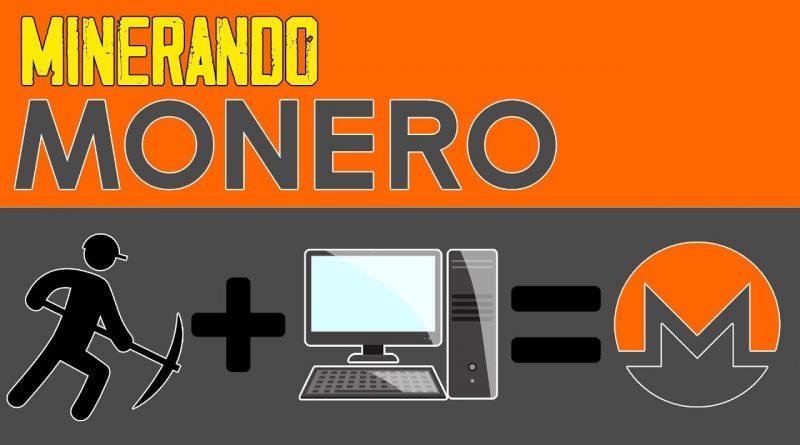 Como minerar MONERO (XMR) com Processador – COMPLETO
